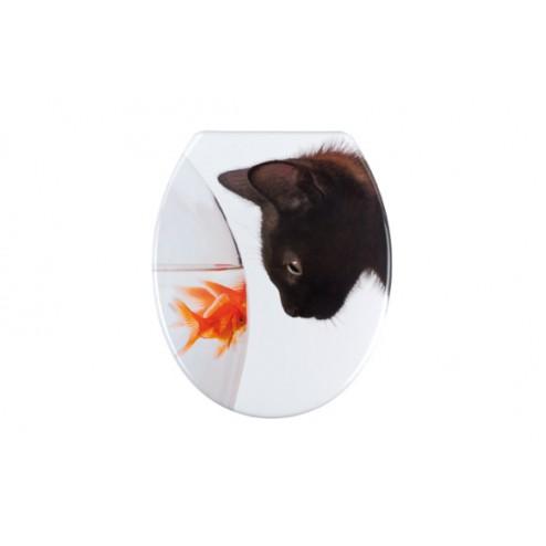 Tapa wc Wenko Fish&cat
