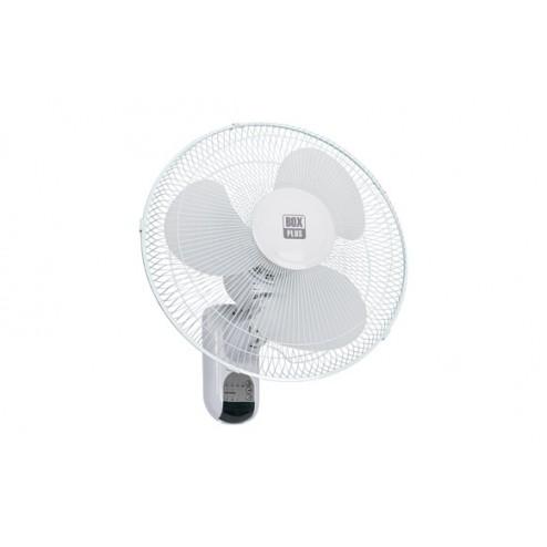 Ventilador pared 40cm. 45w. con mando blanco
