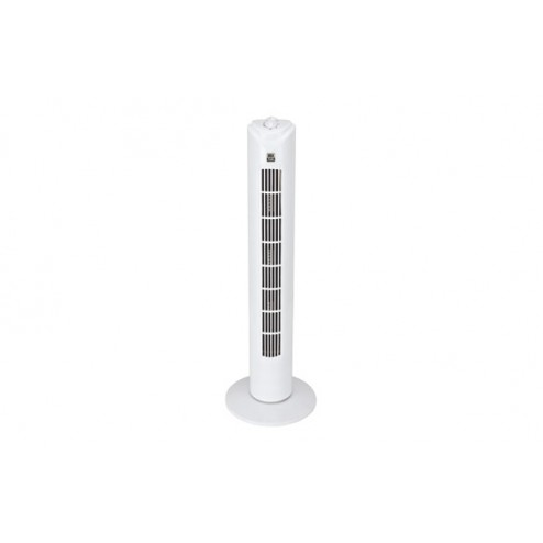 Ventilador de torre blanco 50w temporizador 3 velocidades