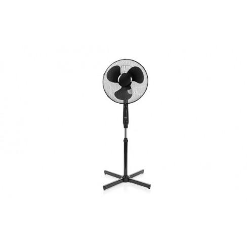 Ventilador pie con mando distancia 40w 50cm negro