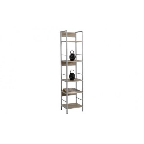 Estantería kala 34 metal/madera 150 x 34 x 30 cm