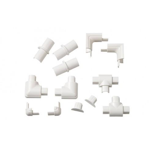 Accesorios Semicircular Blanco 16x8
