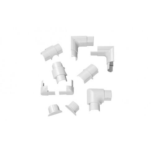 Accesorios Semicircular Blanco 30x15