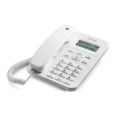 Telefono Fijo Sobremesa Blanco