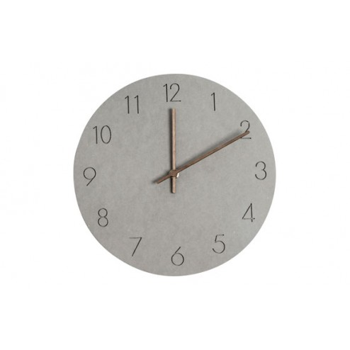 Reloj de pared Balvi Bonne Heure Gris