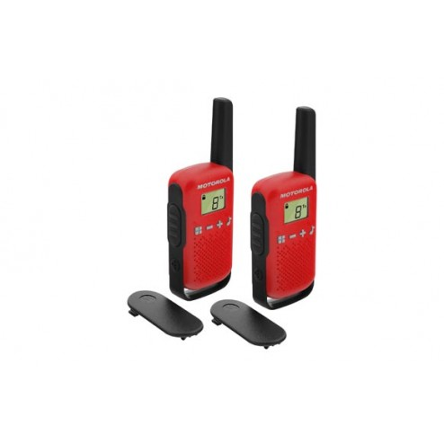 Intercomunicador walkie talkie Motorola T42 RED pack