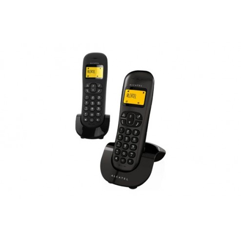 Teléfono inalámbrico Alcatel C250 Duo Black