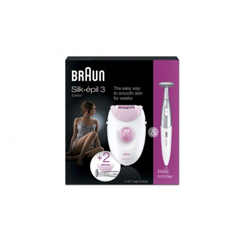 Depiladora Braun Silk-Epil 3321