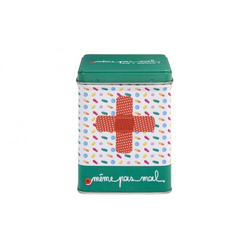 Caja metal medicinas MEME PAS M