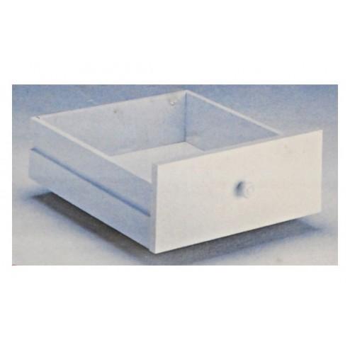 Cajon organizador 60 cm blanco 2un 2 UNIDADES