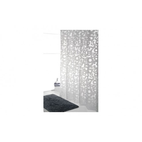 Cortina de baño 180x200cm Save planet