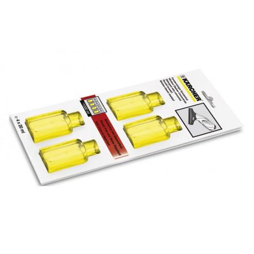 Detergente concentrado limpiacristales wv 4X20 ML Karcher