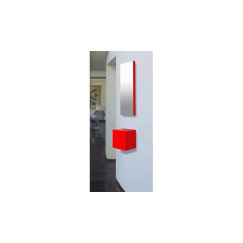 Espejo recibidor 25x75x45cm E101BLCO