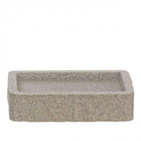 Jabonera rectangular Andrea Sand