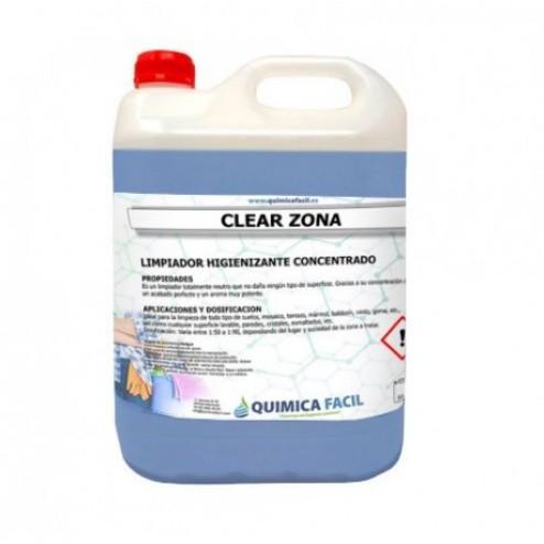 Limpiador de suelos Higienizante QF Clear Zona 5L