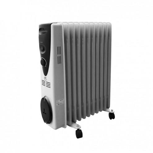 Radiador de aceite EDM 11 elementos 2500w.