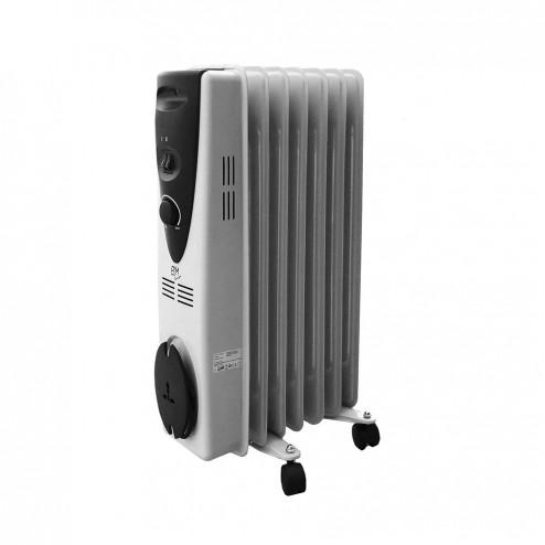 Radiador de aceite EDM 7 elementos 1500w.
