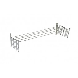 Tendedero Extensible Inox18/10 Sauvic 140 cm