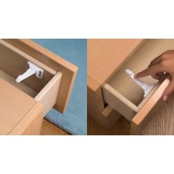 Cierre de seguridad infantil Inofix interno para armario y cajón blanco