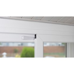 Bloqueador para puerta o ventana corredera Inofix blanco