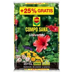 Substrato Universal Compo Sana Compo 20 +5 L Gratis