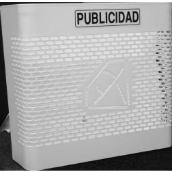 Cesta Publicidad Btv 00330 Blanco