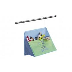 Colgador Big Pocket 50x40x25cm Azul
