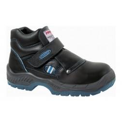 Bota de Seguridad Panter Fragua Velcro Plus Negro S3