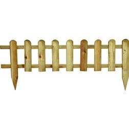Bordura de madera minivalla 28/45x110cm.