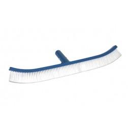 Cepillo Piscina curvo 45cm conexión Clip