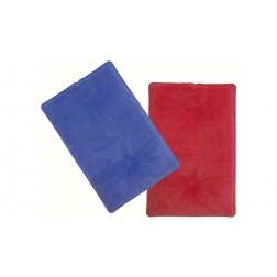 Bolsa Gel Frio-Calor Rojo/Azul 20x30 cm