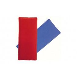 Bolsa Gel Frio-Calor Rojo/Azul 10x24 cm