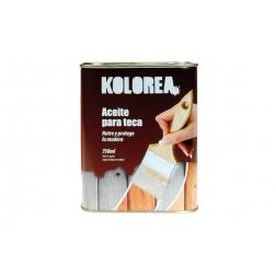 Aceite Teca Kolorea Incoloro Kolorea 750 ml