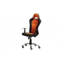 Silla de oficina formula naranja/negro
