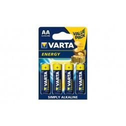 Pila Alcalina Energy Varta LR6 AA BL BL.4