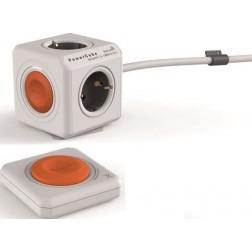 Ladrón Power Cube naranja con mando distancia