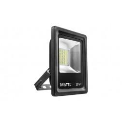 Foco Proyector Led 30 W 6400 K Matel 3000 Lm Ip65