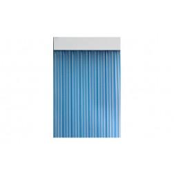 Cortina de Puerta Cinta Duero-Azul/Transparente Cordecor 90x210 cm