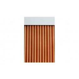 Cortina de Puerta Cinta Ebro-Caramelo/Beige 90x210 cm