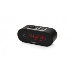 Radio reloj despertador  proyector - negro