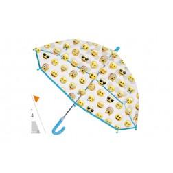 Paraguas emoticono cúpula manual
