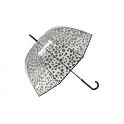 Paraguas largo de señora flores