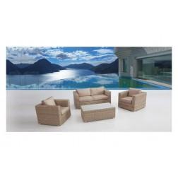 Conjunto muebles de jardín Café Ratan Gold Plus