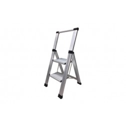 Escalera Aluminio Domestica Peldaño Super Ancho Homelux 5 Peldaños