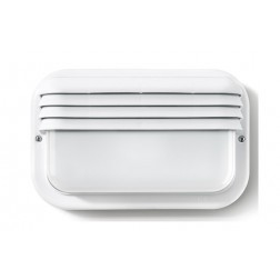 Aplique Ecoled E-27 18W Horizontal Famatel Blanco