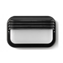 Aplique ecoled e-27 18w horizontal negro