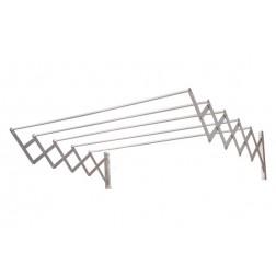 Tendedero de aluminio extensible acordeón Cuncial 140cm.