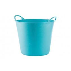 Capazo Plastico Flexible Muliusos 26l  Azul