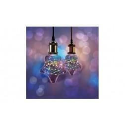 Lampara Led Starry Estrella E27 1,5W Color
