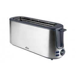 Tostador inoxidable 1000 w ranura larga